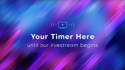 Online Streaming Countdown Blank