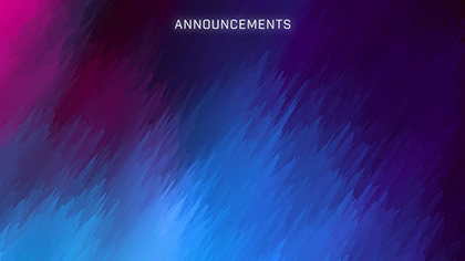 Overflow Announcements