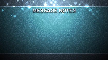 Particle Pattern Message Notes