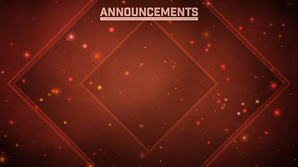 Particle Spin Announcements
