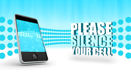 Silence Cell Phones 2