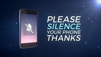 Silence Phones 3D Particles