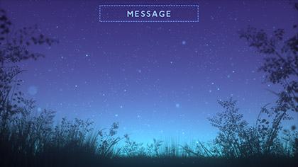 Summer Fireflies Message