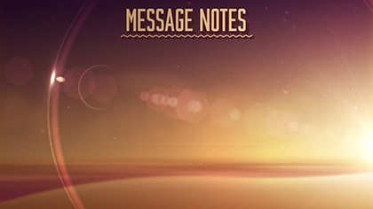 Summer Glow Message Notes