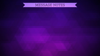 Summer Prism Message Notes