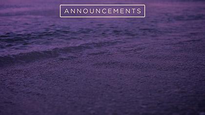 Sunset Surf Announcements