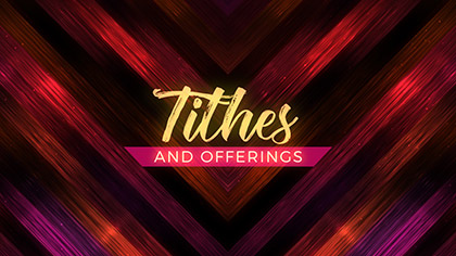 Vivid Fibers Tithes Offerings