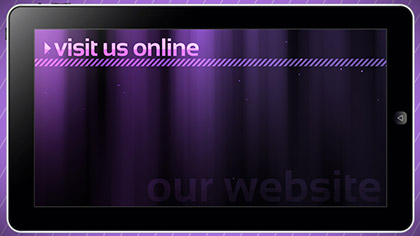 Website Tablet Promo