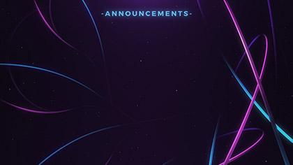 Woven Announcements