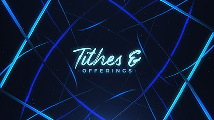 Woven Tithes Offering