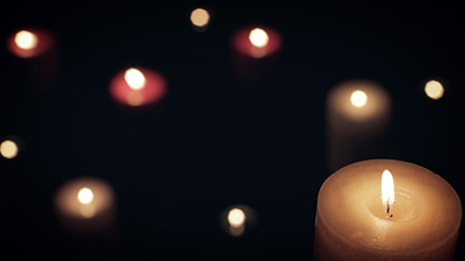 Dark Colored Candles