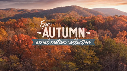 Epic Autumn Aerial Collection