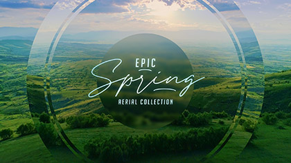 Epic Spring Aerial Collection