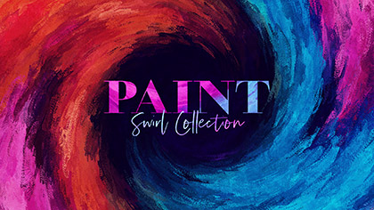 Paint Swirl Collection