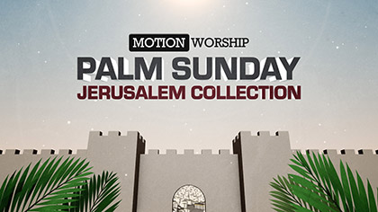 Palm Sunday Jerusalem Collection