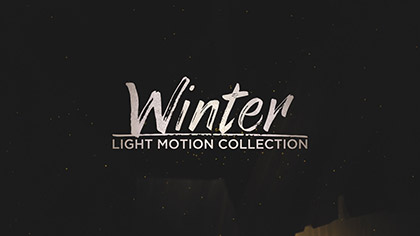 Winter Light Collection