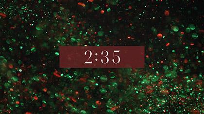Christmas Glitter Countdown