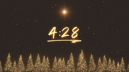 Christmas Gold Pines Countdown