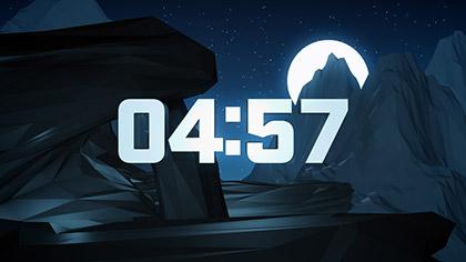 Digital Mountains Countdown