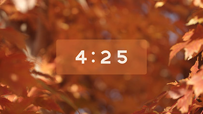 Fall Focus Countdown