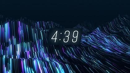 Fiber Optic Countdown