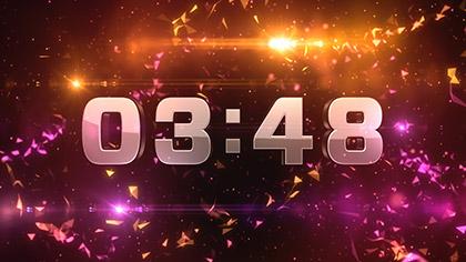 Geodesic Countdown