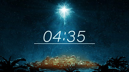 Holy Night Countdown