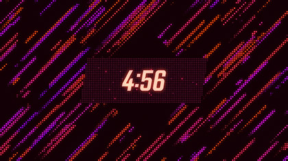 LED Wall Chill Countdown