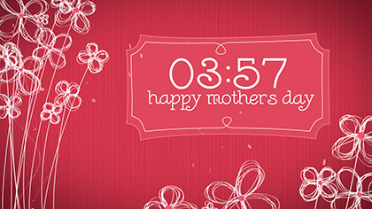 Mothers Day Art Countdown