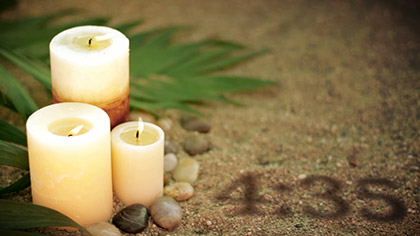Palm Candles Countdown