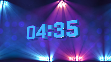 Stage Lights Countdown
