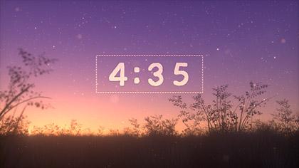 Summer Fireflies Countdown