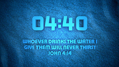 Water Countdown
