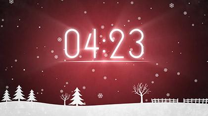 Winter Snow Countdown