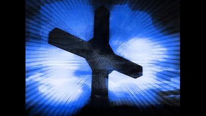 Blue Cross Burst