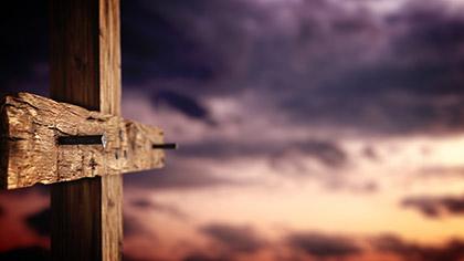 Rugged Cross Nails Sunset