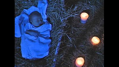Baby Jesus Nighttime