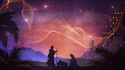 Behold Nativity Bethlehem