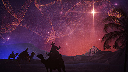 Behold Wise Men Star
