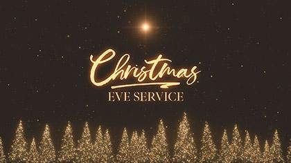 Christmas Gold Christmas Eve Service