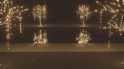 Christmas Gold Pool Closeup