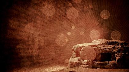 Empty Tomb Grunge Dark