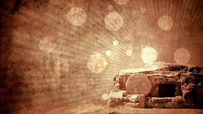 Empty Tomb Grunge Warm