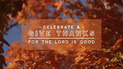 Fall Focus Give Thanks