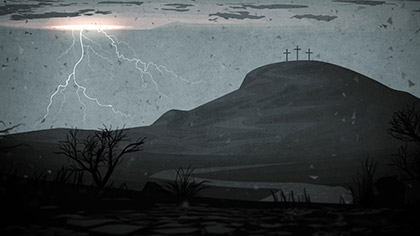 Good Friday Artwork Calvary