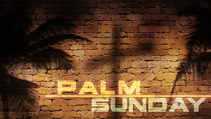 Palm Sunday Wall