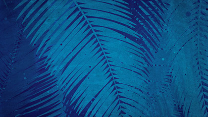 Palm Sunday Watercolors Blue Fast