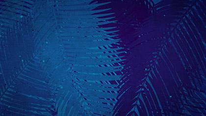 Palm Sunday Watercolors Blue Slow