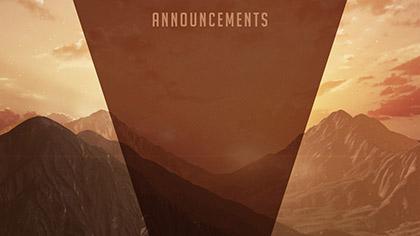 Resurrection Announcements
