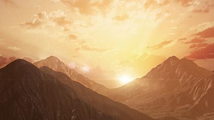 Resurrection Mountain Sunset